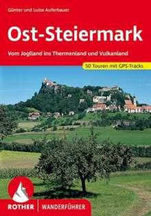 Günter Auferbauer: Oststeiermark und Südburgenland: Steirisches Thermenland, Buch