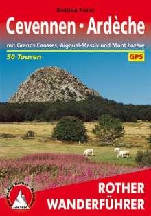 Bettina Forst: Cevennen - Ardèche, Buch