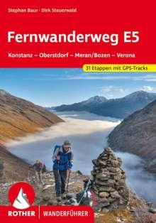 Dirk Steuerwald: Fernwanderweg E5, Buch