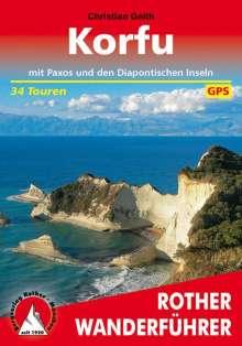 Christian Geith: Korfu mit Paxos und den Diapontischen Inseln, Buch