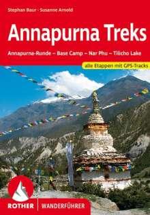 Stephan Baur: Annapurna Treks, Buch