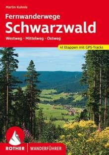 Martin Kuhnle: Schwarzwald Fernwanderwege, Buch