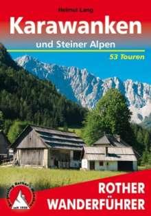 Helmut Lang: Karawanken und Steiner Alpen, Buch