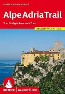 Astrid Christ: AlpeAdriaTrail, Buch