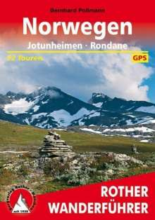 Bernhard Pollmann: Rother Wanderführer / Norwegen, Buch