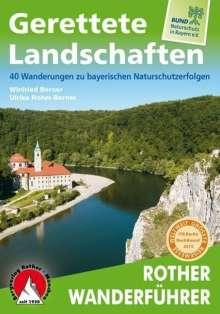 Winfried Berner: Gerettete Landschaften, Buch