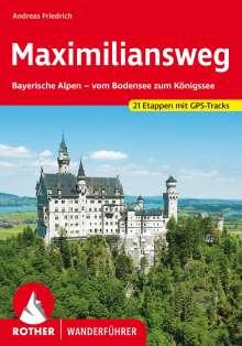 Andreas Friedrich: Maximiliansweg, Buch