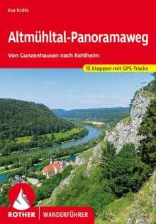 Eva Krötz: Rother Wanderführer Altmühltal-Panoramaweg, Buch