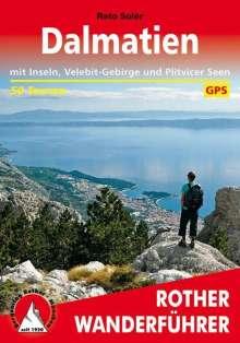 Reto Solèr: Rother Wanderführer Dalmatien, Buch