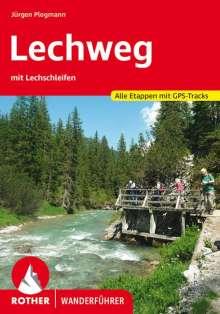 Jürgen Plogmann: Lechweg mit Lechschleifen, Buch