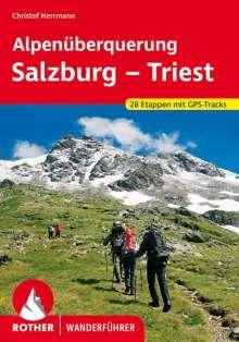 Christof Herrmann: Alpenüberquerung Salzburg - Triest, Buch
