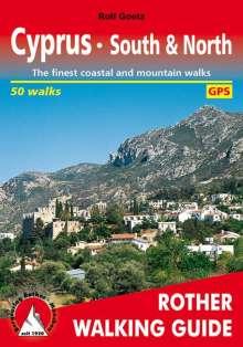 Rolf Goetz: Cyprus South & North (Zypern · Süd & Nord - englische Ausgabe), Buch