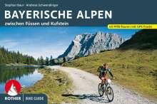 Stephan Baur: Bike Guide Bayerische Alpen, Buch
