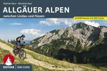 Stephan Baur: Bike Guide Allgäuer Alpen, Buch