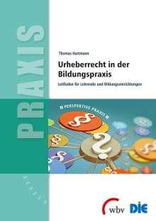 Thomas Hartmann (geb. 1959): Urheberrecht in der Bildungspraxis, Buch