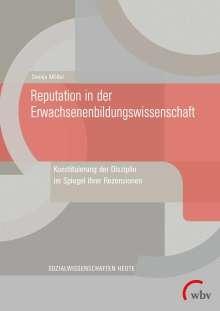 Svenja Möller: Reputation in der Erwachsenenbildungswissenschaft, Buch