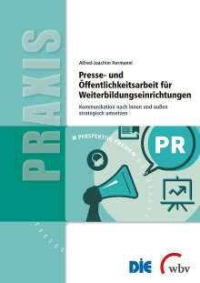Alfred-Joachim Hermanni: Presse- und Öffentlichkeitsarbeit für Weiterbildungseinrichtungen, Buch