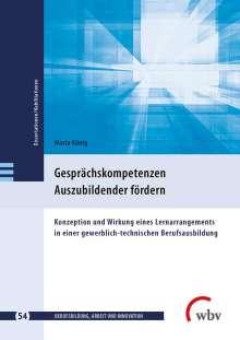 Maria König: Gesprächskompetenzen Auszubildender fördern, Buch