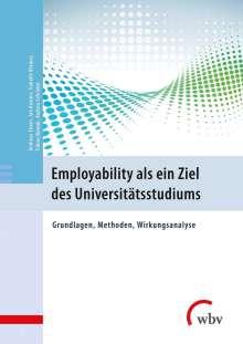 Andreas Eimer: Employability als ein Ziel des Universitätsstudiums, Buch