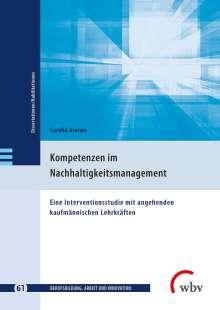 Carolin Greiwe: Kompetenzen im Nachhaltigkeitsmanagement, Buch