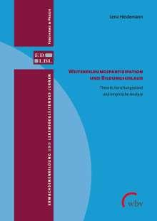 Lena Heidemann: Weiterbildungspartizipation und Bildungsurlaub, Buch