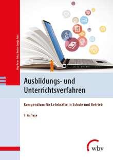 Jörg-Peter Pahl: Ausbildungs- und Unterrichtsverfahren, Buch