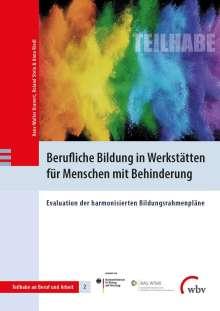 Hans-Walter Kranert: Berufliche Bildung in Werkstätten für Menschen mit Behinderung, Buch