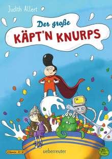 Judith Allert: Der große Käpt'n Knurps, Buch