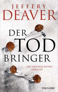 Jeffery Deaver: Der Todbringer, Buch