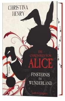 Christina Henry: Die Chroniken von Alice - Finsternis im Wunderland, Buch
