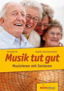 Angelika Jekic: Musik tut gut, m. Audio-CD, Noten
