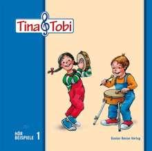 """Musikalische Früherziehung """"Tina und Tobi"""". Hörbeispiele auf CD, 1. Halbjahr, CD"""