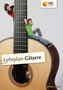 Lehrplan Gitarre, Buch