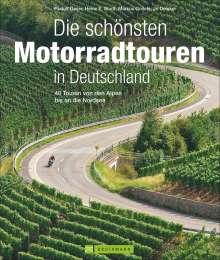 Rudolf Geser: Die schönsten Motorradtouren in Deutschland, Buch