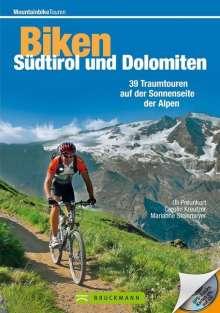 Uli Preunkert: Mountainbiketouren - Biken Südtirol und Dolomiten, Buch