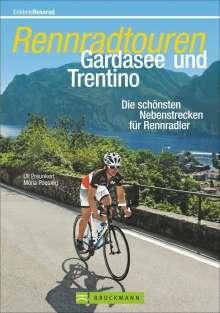Uli Preunkert: Rennradtouren Gardasee und Trentino, Buch