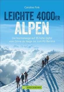 Caroline Fink: Leichte 4000er Alpen, Buch