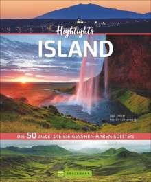 Olaf Krüger: Highlights Island, Buch