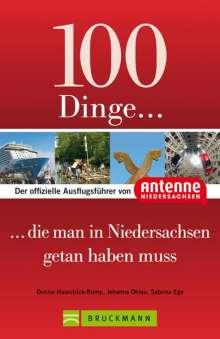 Denise Haarstrick-Rump: 100 Dinge, die man in Niedersachsen getan haben muss, Buch