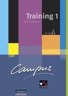 Johanna Butz: Campus A Training 1 +  CD-ROM + Lösungsheft, Buch
