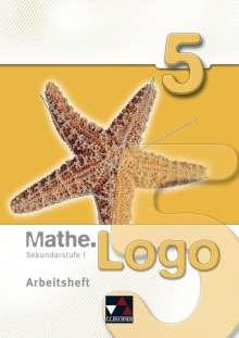Mathe.Logo 5 Arbeitsheft, Buch