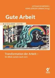 Gute Arbeit - Ausgabe 2019, Buch