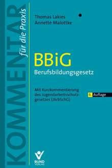 Thomas Lakies: BBiG - Berufsbildungsgesetz, Buch