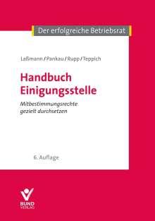 Nikolai Laßmann: Handbuch Einigungsstelle, Buch