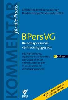 Lothar Altvater: BPersVG - Bundespersonalvertretungsgesetz, Buch