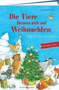 Die Tiere freuen sich auf Weihnachten, Buch