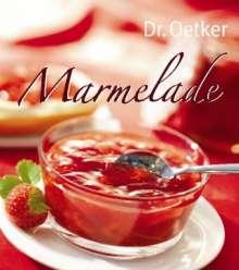 Oetker: Marmelade           :Oetker, Buch