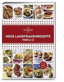 Oetker: Neue Landfrauenrezepte von A-Z, Buch