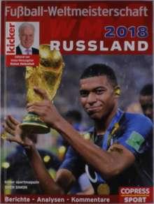 Sven Simon: Fußball-Weltmeisterschaft Russland 2018, Buch