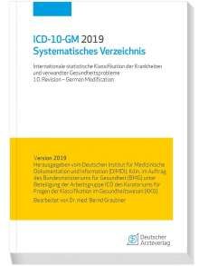 ICD-10-GM 2019Systematisches Verzeichnis, Buch